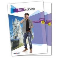Taalblokken werkboek Engels A1/A2,(mbo 2/3) deel a + b