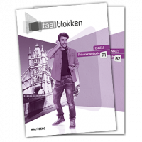 Taalblokken antwoordenboek Engels A1/A2 deel A+B (mbo 2/3)