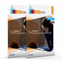 Take care boek niveau 3 module 7: Afscheid nemen van de client