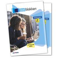 Taalblokken boek Nederlands 3F 2019 deel a + b